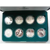 США 1995 Олимпиада Атланта набор 8 монет серебро