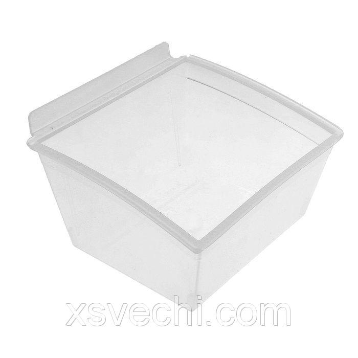 Короб пластиковый прозрачный, 140*135*95