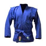Куртка для самбо JS-302, синяя, р.0/130