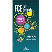 FCE for Schools 1 Practice Tests audio cd (2014 год)