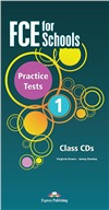 FCE for Schools 1 Practice Tests audio cd (2014 год)