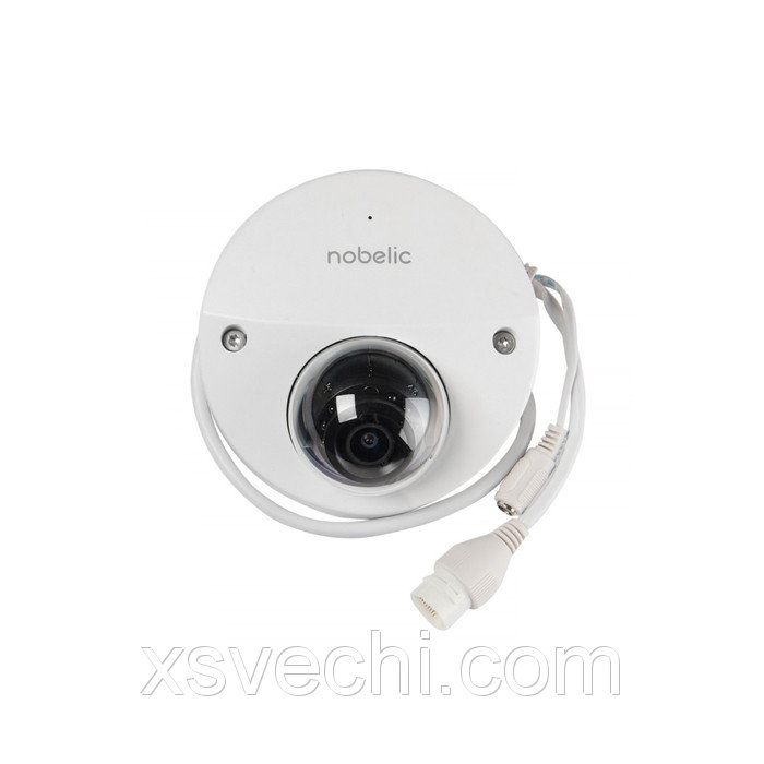 Видеокамера антивандал Nobelic NBLC-2220F-MSD, IP, 1080P, 2 Мп, PoE, облачная, слот SD