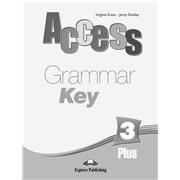 access 3+  grammar book key