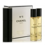 Chanel No 5 Eau de Parfum Twist and Spray 3x20ml