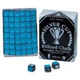 "Мел ""Silver Cup"" (144 шт) синий, интернет-магазин товаров для бильярда Play-billiard.ru"