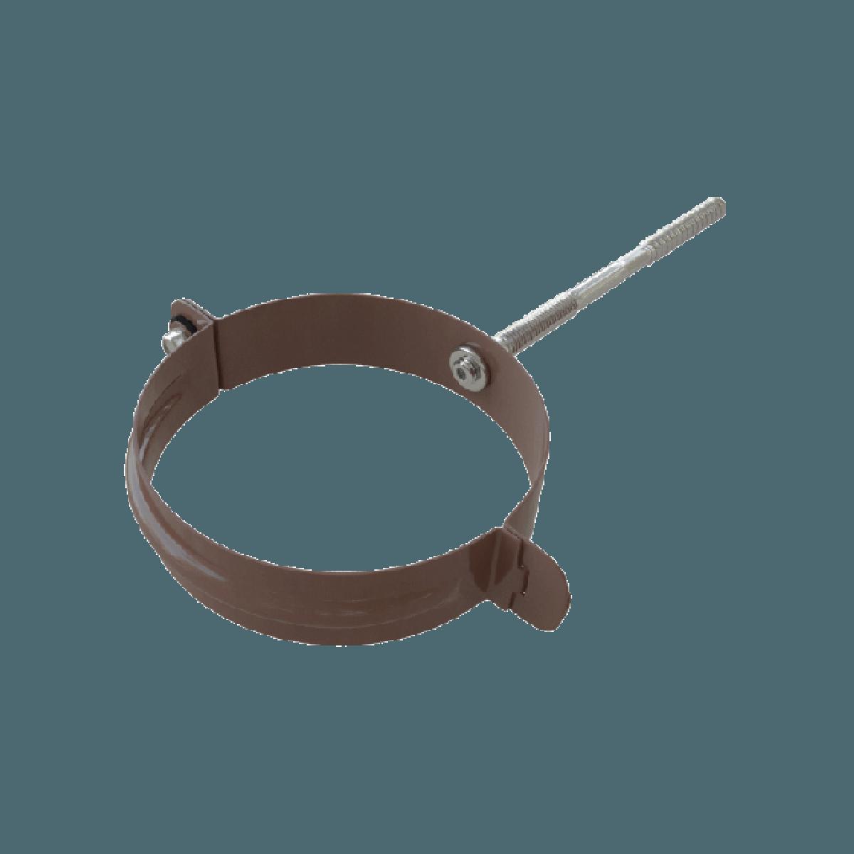 Хомуты для водосточной трубы своими руками