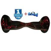 Гироскутер Smart Balance SEV 10 дюймов APP+Balance молния красный