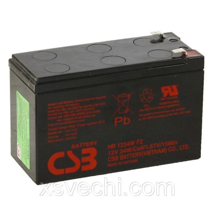 Аккумуляторная батарея CSB 9 Ач 12 Вольт HR 1234W