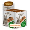 Лакомство Деревенские Лакомства мини колбаски из курицы для кошек (4г) в упаковке 100шт