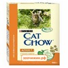 Сухой корм Cat Chow для кошек (взрослых) индейка+курица (400г)