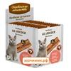 Лакомство Деревенские Лакомства мини колбаски из лосося для кошек (4г) в упаковке 100шт