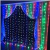 Светодиодная LED гирлянда Занавес 1,5*1,5 м. Цветное свечение