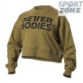 Свитшот Better Bodies Chelsea Sweater, Military Green
