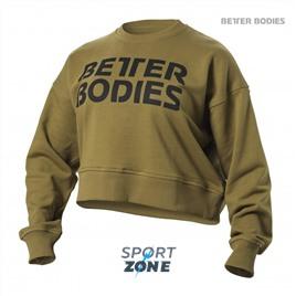 Свитшот Better Bodies Chelsea Sweater, Military Green