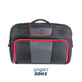 Спортивный портфель SIX PACK FITNESS (SPF) Executive Briefcase 300 Black/Red (черный/красный)
