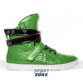 Кроссовки Heyday Green Anaconda Hightop Bodybuilding Sneaker