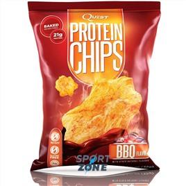 Протеиновые чипсы БАРБЕКЮ 32 г США Quest Chips 2.0 BBQ (8 пач)