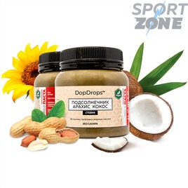 Протеиновая паста DopDrops Подсолнечник Арахис Кокос 250г (стевия)