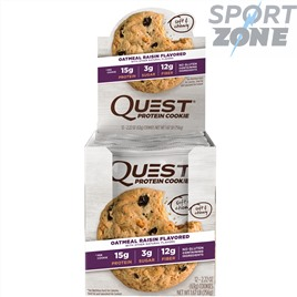 Печенье Quest Cookie Oatmeal & Raisin (12 шт)