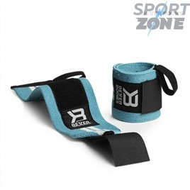 Напульсники Better Bodies Womens Wrist Wraps, Aqua/White