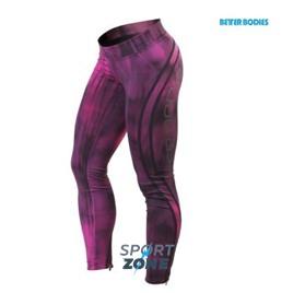Спортивные лосины Better bodies Grunge tights, розовые