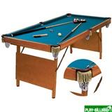 """Бильярдный стол для пула """"Hobby"""" (в комплекте), интернет-магазин товаров для бильярда Play-billiard.ru"""