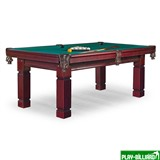 Стол / пул Texas 7 ф (махагон) ЛДСП, интернет-магазин товаров для бильярда Play-billiard.ru