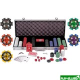 """Набор для игры в покер """"Euro"""", интернет-магазин товаров для бильярда Play-billiard.ru"""