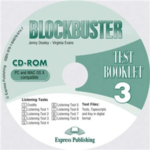 blockbuster 3 test booklet cd-rom