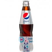 Pepsi Light - газированный напиток 0,25л в стекле - 12шт. в упаковке