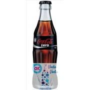 Coca-Cola Zero 0,33л в стекле - 12шт. в упаковке