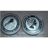 1 доллар Австралия 2015г.Кукабурра.серебро 1унция