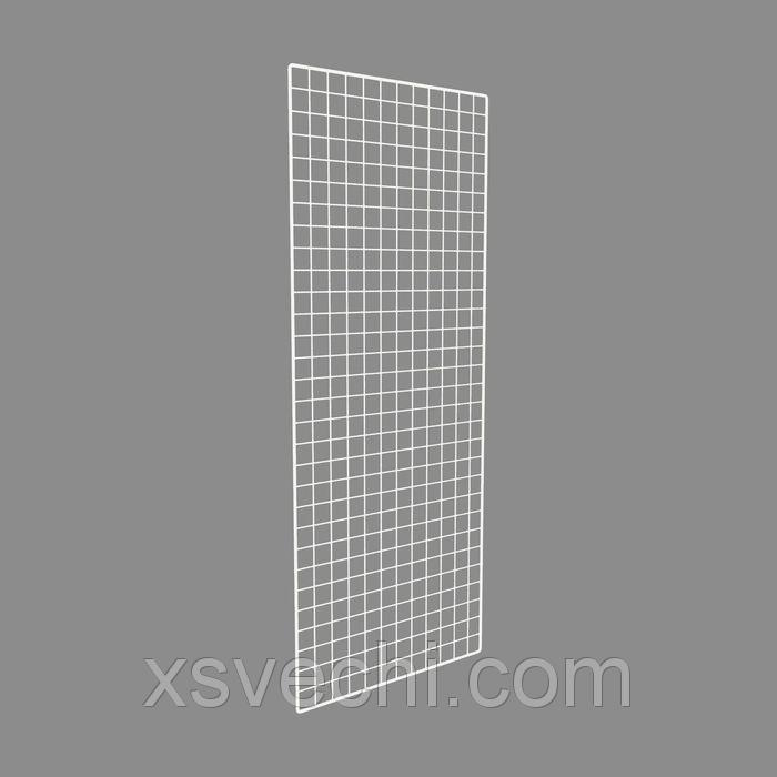 Сетка торговая, 2000*800мм, белый, окантовка - 8мм, пруток - 4мм
