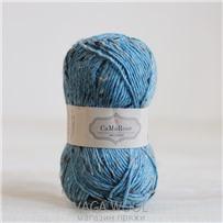 Пряжа Lama Tweed Бирюза 6429, 100м/50г, CaMaRose, Turkisbla