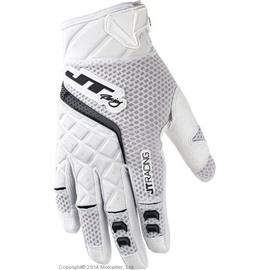 Кроссовые перчатки JT Racing PROTEK белые L