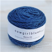 Пряжа Merino DK solid Танзанит, 100м/50г, Cowgirlblues, Tanzanite