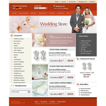 Wedding Shop