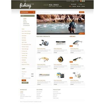 Fishing online store