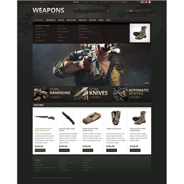 Weapons and Military Items