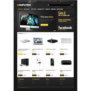 Dark Computer Theme