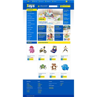 Online Toys Store