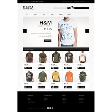 Online T-Shirt Store