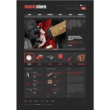 Responsive Music Store