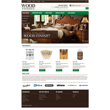 Responsive Wood Finishes Shop