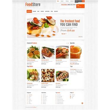 Responsive Food Store