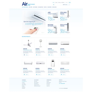 Responsive Air Conditioning Store