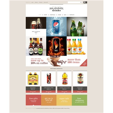 NonAlcoholic Drinks Store