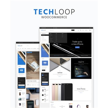 TechLoop - Electronics & Gadgets Store Responsive WordPress Theme