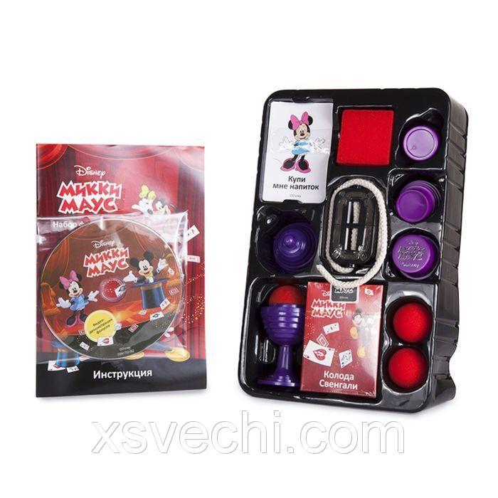 """Набор для демонстрации фокусов №2  """"Mickey Mouse"""" (30 фокусов, DVD, 17х6,5х27 см) Disney"""
