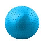 Мяч гимнастический массажный GB-301 75 см, антивзрыв, синий